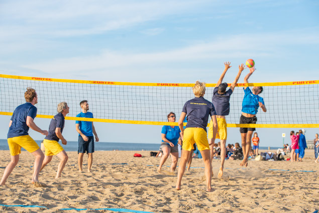 Beach volleybal 2019 daverend succes